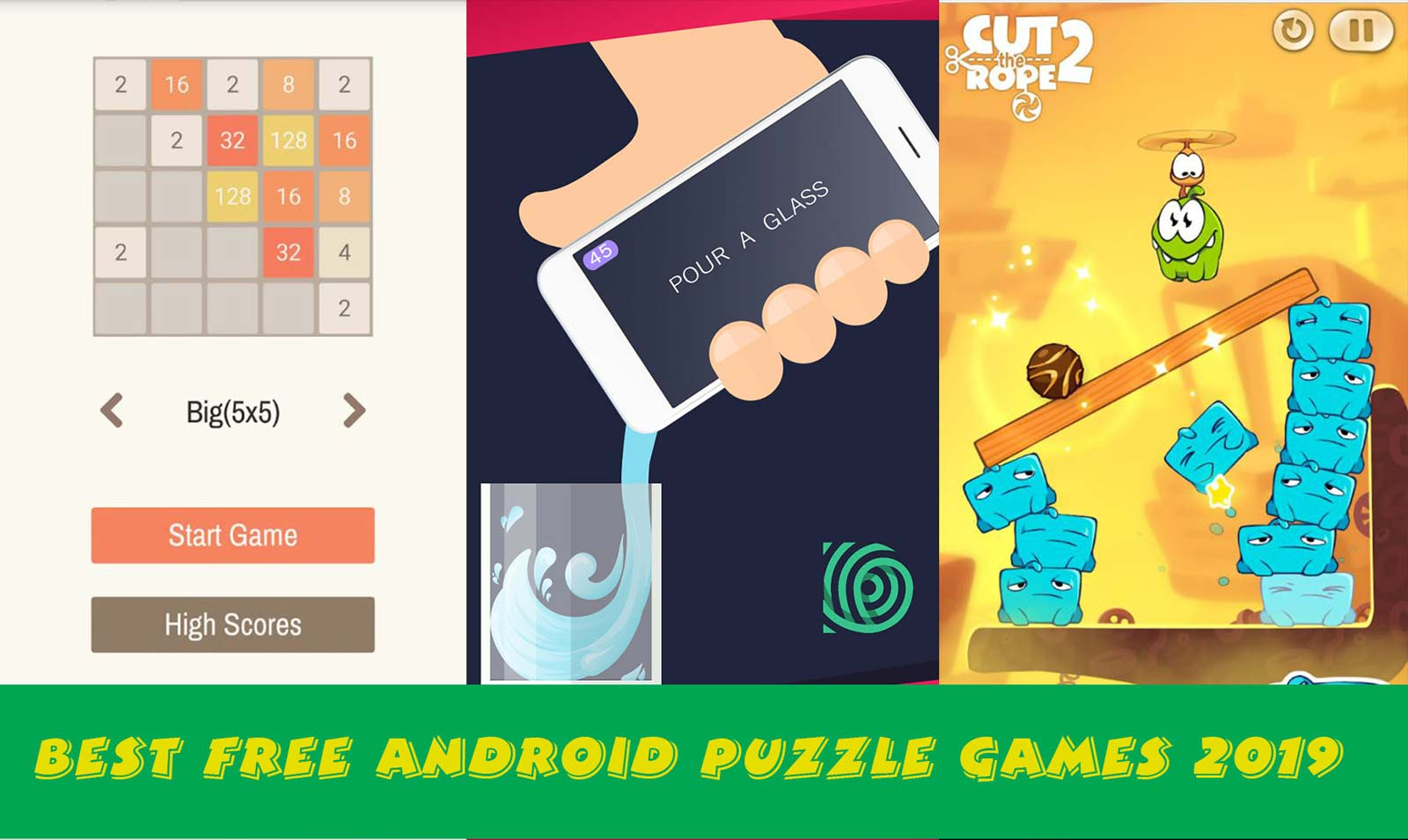 10 Best Free Android Puzzle Games 2019