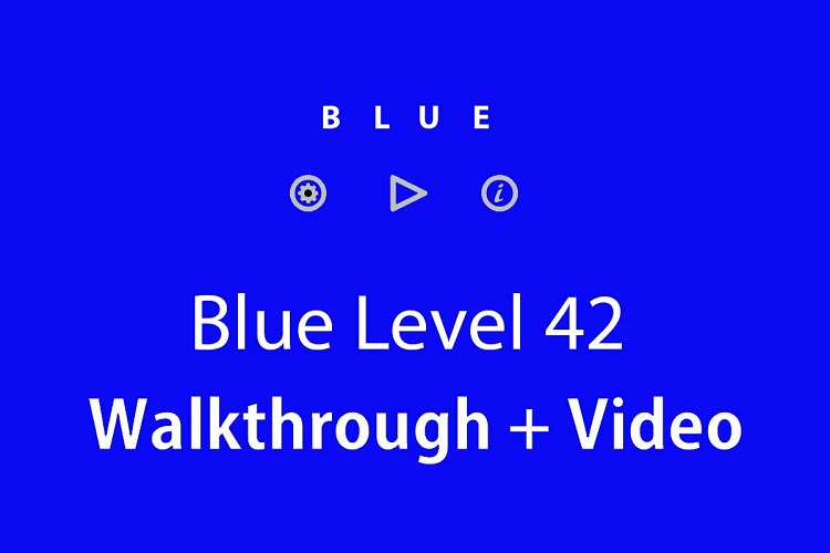 Blue-level-42-solution