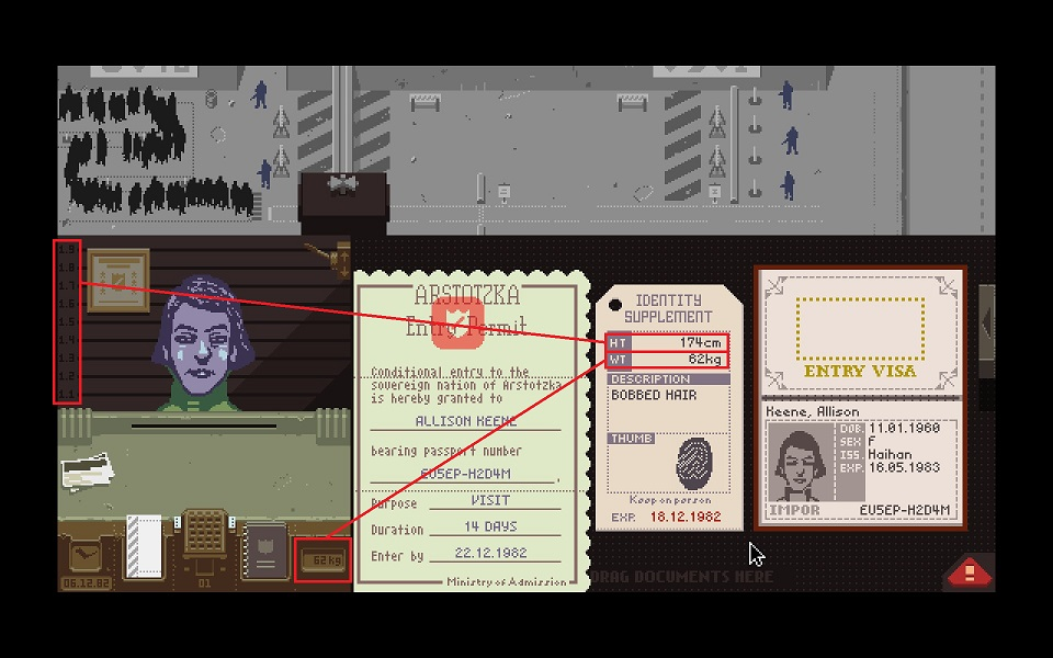 papers please Identity supplement