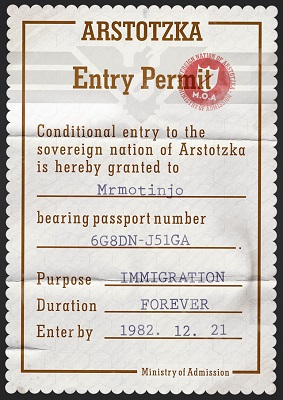 papers please entry permit