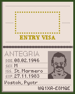 Antegria passport