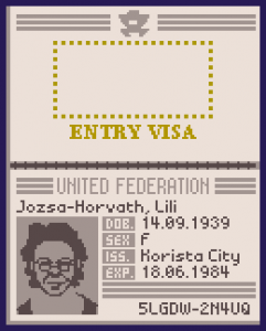 United federation passport