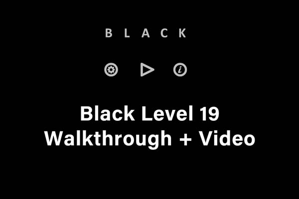 black level 19 hints