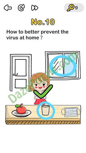 brain out beat virus level 10 answer