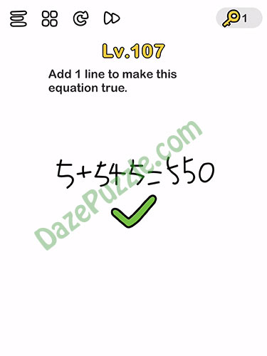 brain out level 107 answer