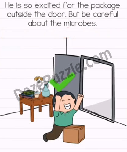 brain test 2 naughty microbes level 5 answer