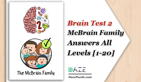 brain test 2 mcbrain family answers