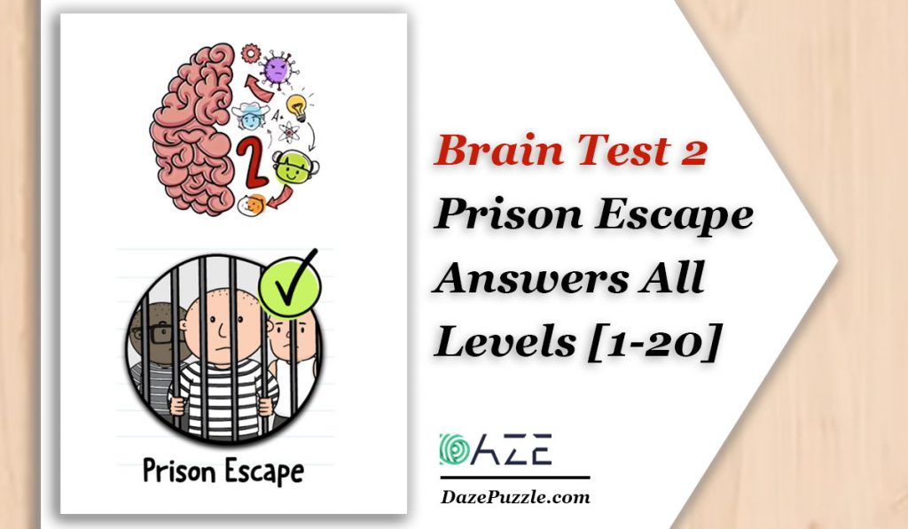 brain test 2 prison escape answers