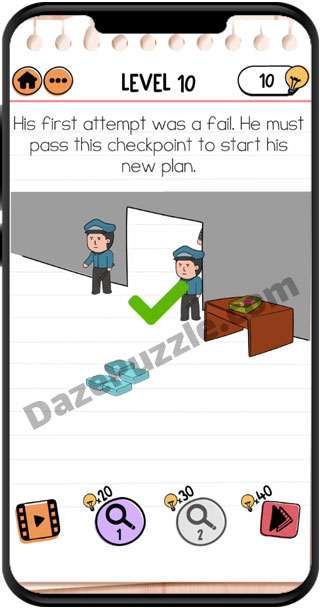 brain test 2 prison escape level 10 answer