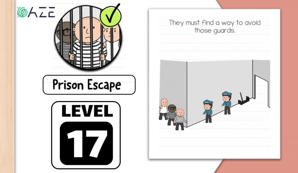 brain test 2 prison escape level 17