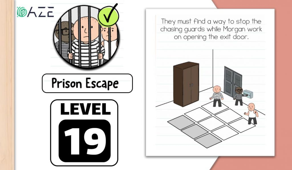 brain test 2 prison escape level 19
