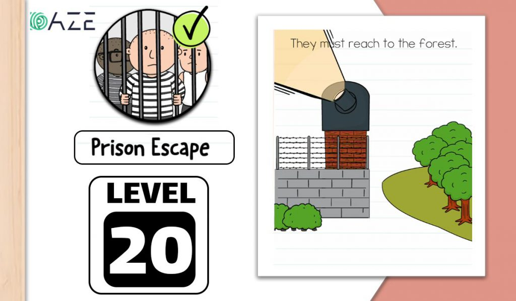 brain test 2 prison escape level 20
