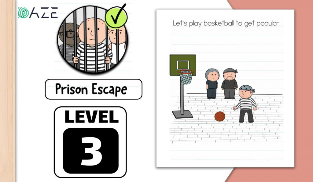 brain test 2 prison escape level 3