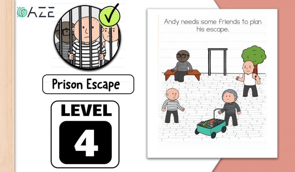 brain test 2 prison escape level 4