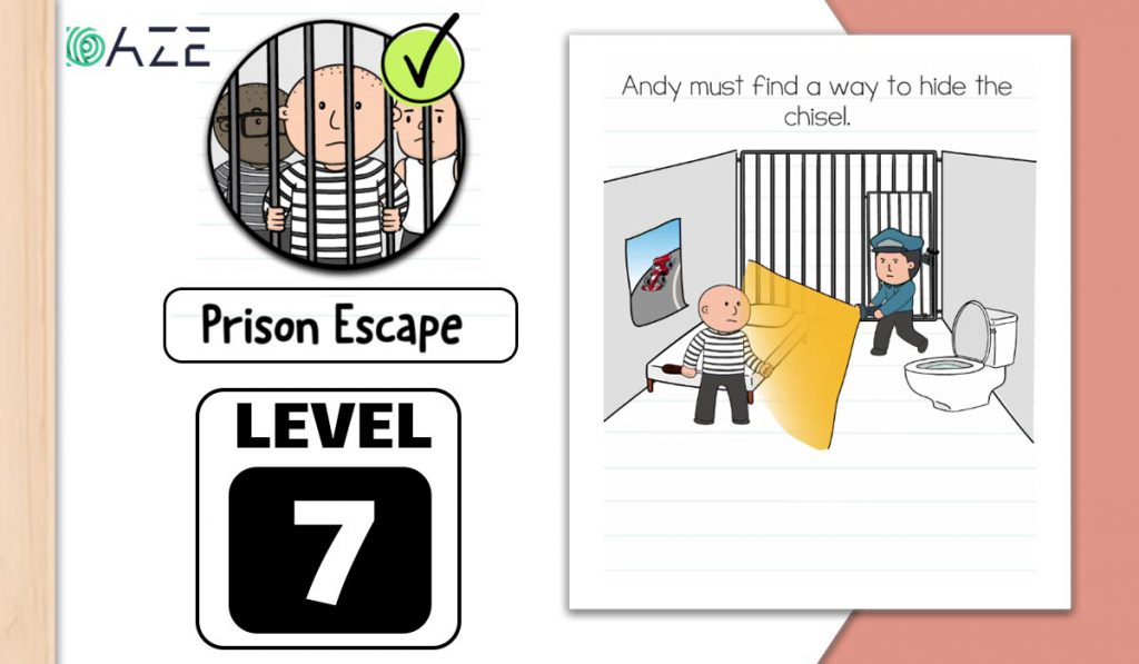 brain test 2 prison escape level 7