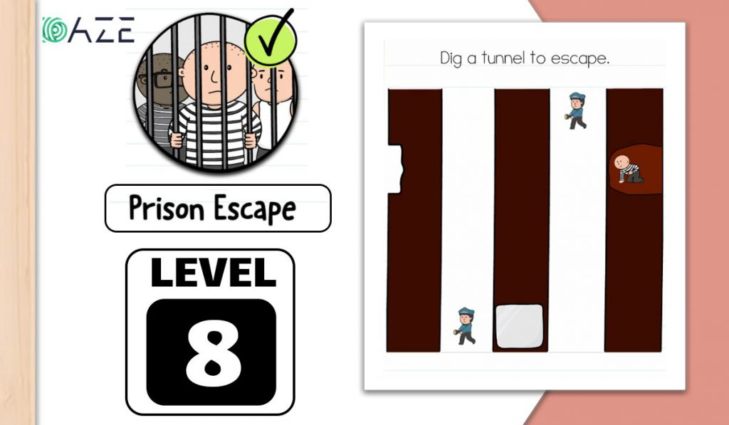 brain test 2 prison escape level 8