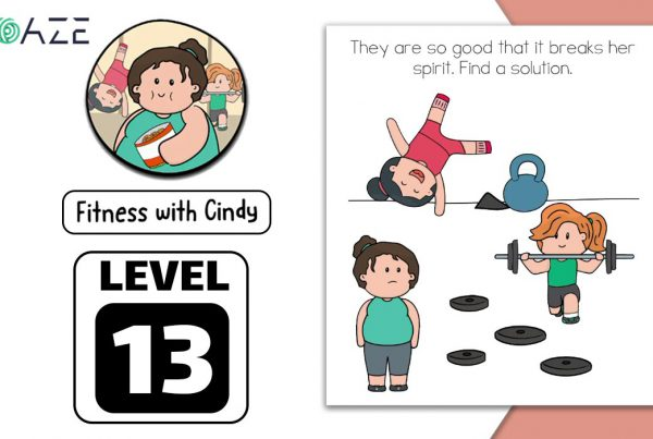 brain test 2 fitness with cindy level 13