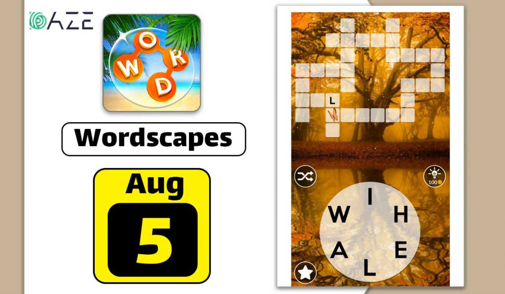 wordscapes august 5 2020 daily puzzle