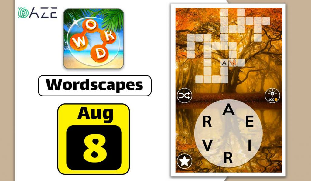 wordscapes august 8 2020 daily puzzle