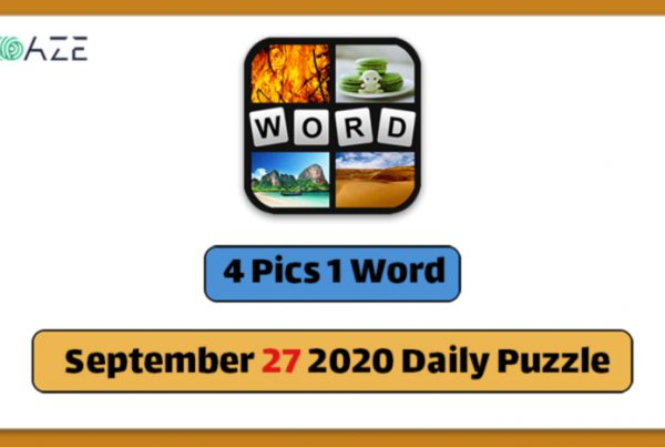4 pics 1 word september 27 2020 daily puzzle