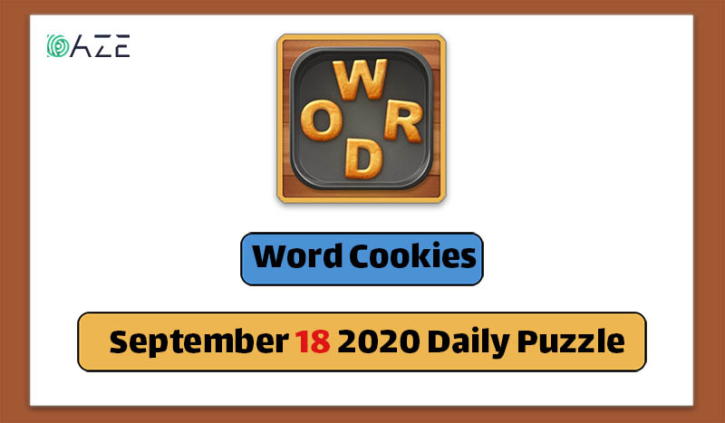 word cookies september 18 2020 daily puzzle