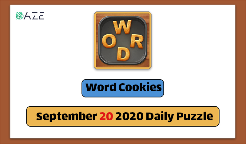 word cookies september 20 2020 daily puzzle