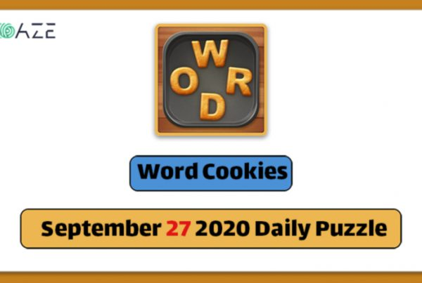 word cookies september 27 2020 daily puzzle