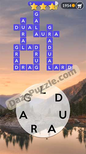 wordscapes september 1 2020 daily puzzle answer