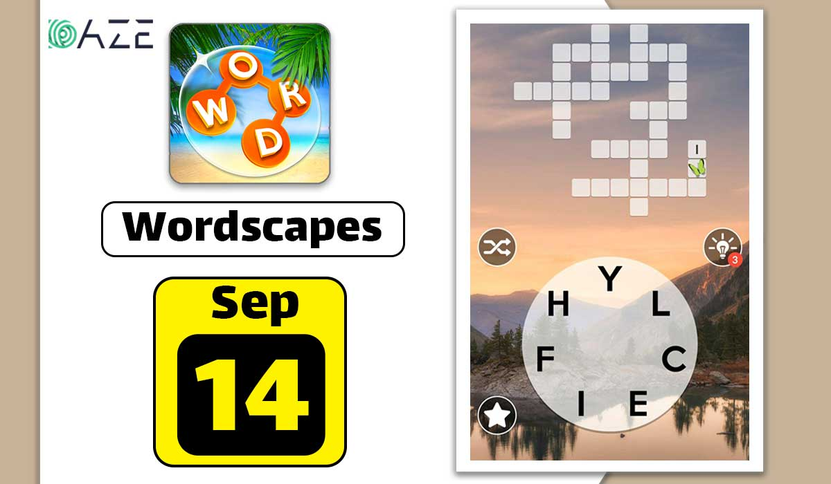 Wordscapes September 14 2020 Daily Puzzle Answer Daze Puzzle
