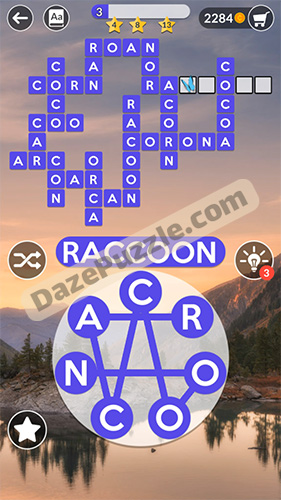 Wordscapes September 22 2020 Daily Puzzle Answer Daze Puzzle