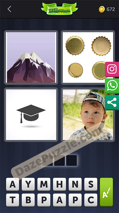 4 pics 1 word october 11 2020 daily puzzle answer