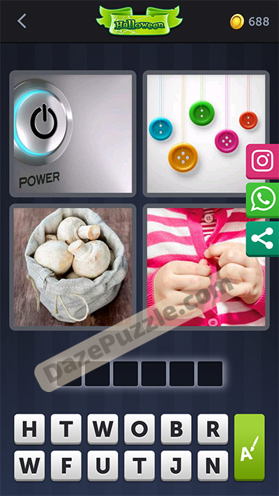 4 pics 1 word october 12 2020 daily puzzle answer