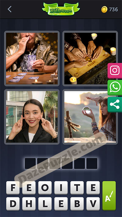 4 pics 1 word October 13 2020 bonus daily puzzle answer