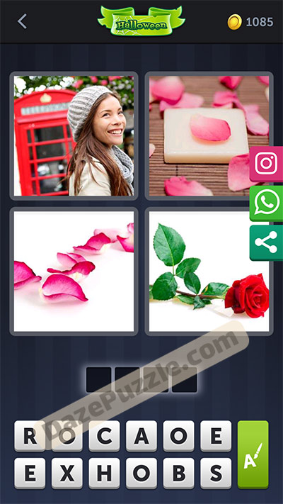 4 pics 1 word October 20 2020 bonus daily puzzle answer