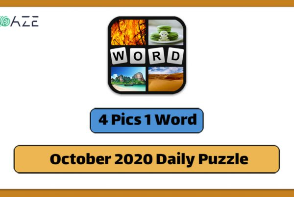 4 pics 1 word October 2020 daily puzzle