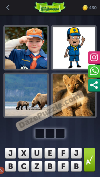 4 pics 1 word october 5 2020 daily puzzle answer