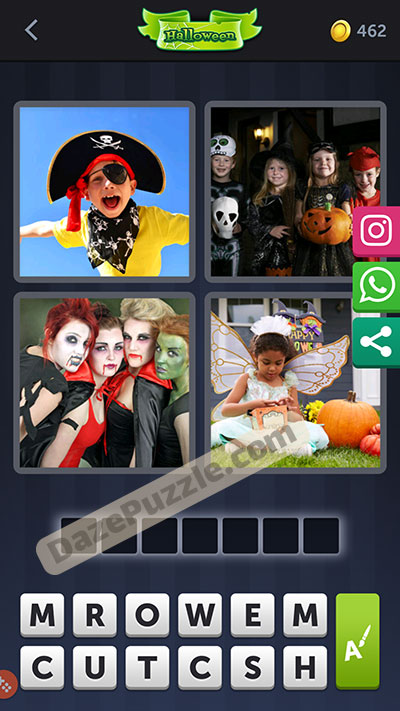 4 pics 1 word october 6 2020 daily puzzle answer