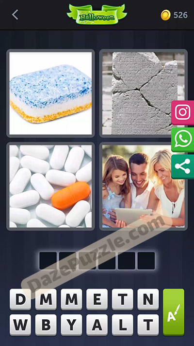 4 pics 1 word october 8 2020 daily puzzle answer