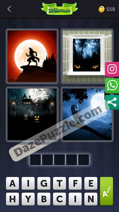 4 pics 1 word october 9 2020 daily puzzle answer