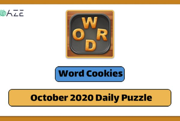 word cookies October 2020 daily puzzle