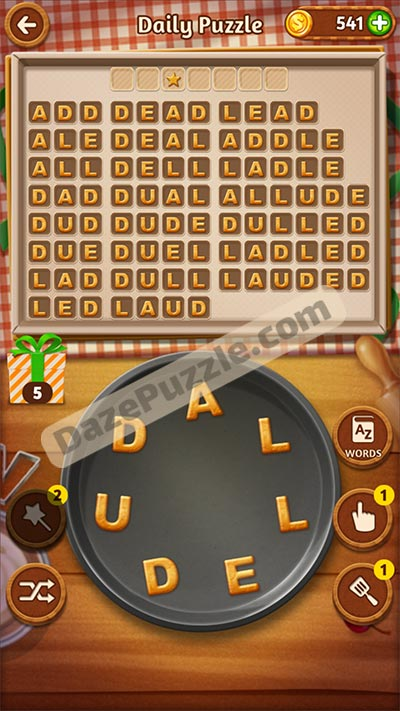 word cookies October 15 2020 daily puzzle answer