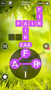 wordscapes level 6 answer