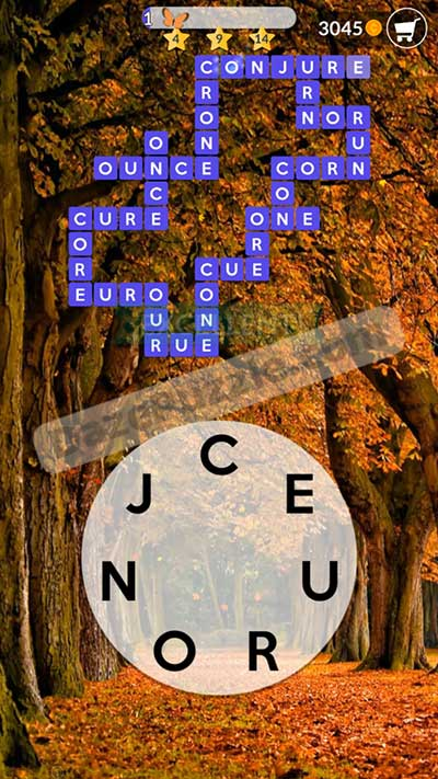 wordscapes october 11 2020 daily puzzle answer