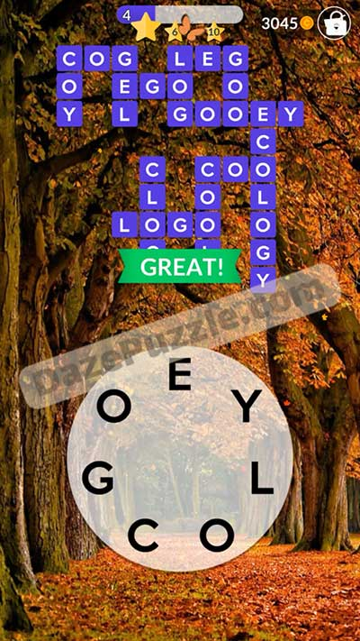 Wordscapes October 12 2020 Daily Puzzle Answer Daze Puzzle