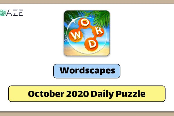 wordscapes october 2020 daily puzzle