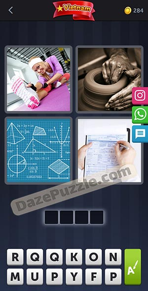 4 pics 1 word november 19 2020 daily puzzle answer