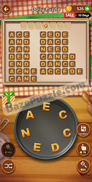 word cookies november 16 2020 daily puzzle answer