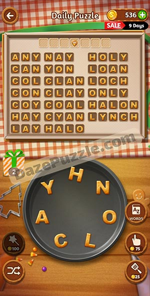 word cookies november 17 2020 daily puzzle answer