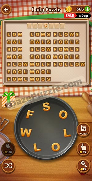 word cookies november 18 2020 daily puzzle answer