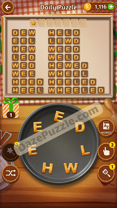 word cookies november 2 2020 daily puzzle answer